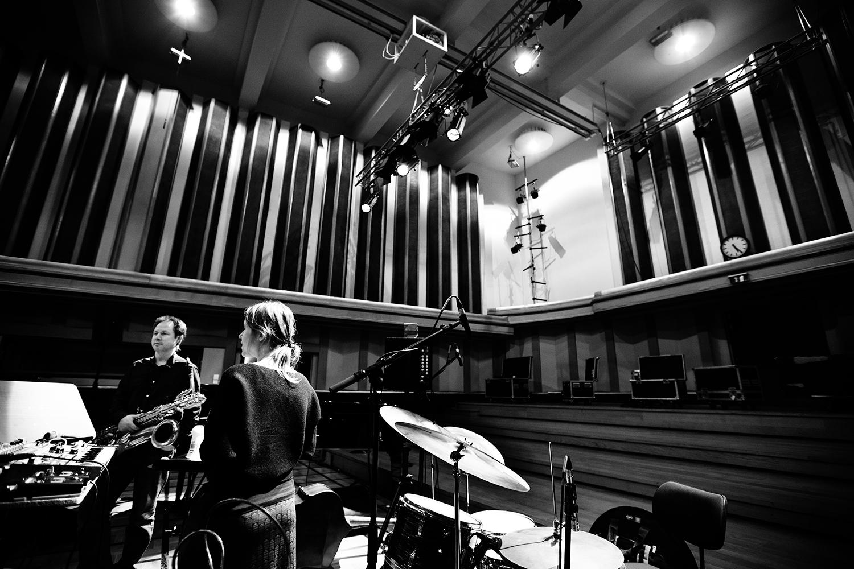 Lynn Cassiers - YUN by Laurent Orseau - Soundcheck - Flagey - Brussels, Belgium #14