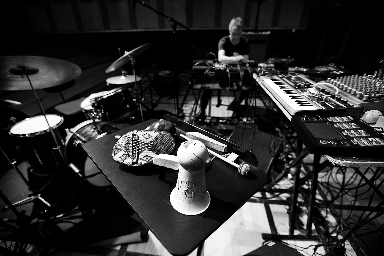 Lynn Cassiers - YUN by Laurent Orseau - Soundcheck - Flagey - Brussels, Belgium #16