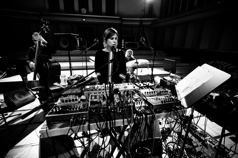 Lynn Cassiers - YUN by Laurent Orseau - Soundcheck - Flagey - Brussels, Belgium #4