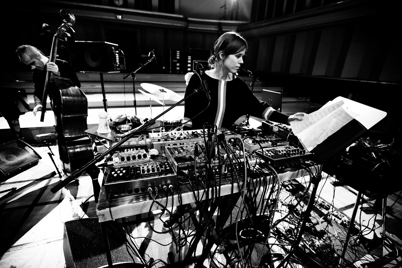 Lynn Cassiers - YUN by Laurent Orseau - Soundcheck - Flagey - Brussels, Belgium #5