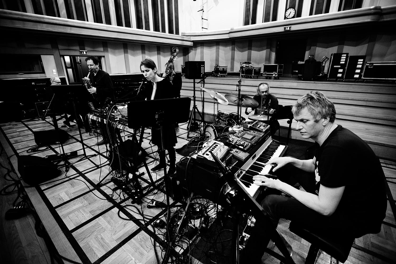Lynn Cassiers - YUN by Laurent Orseau - Soundcheck - Flagey - Brussels, Belgium #6
