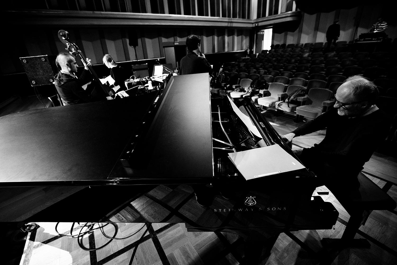 Lynn Cassiers - YUN by Laurent Orseau - Soundcheck - Flagey - Brussels, Belgium #8