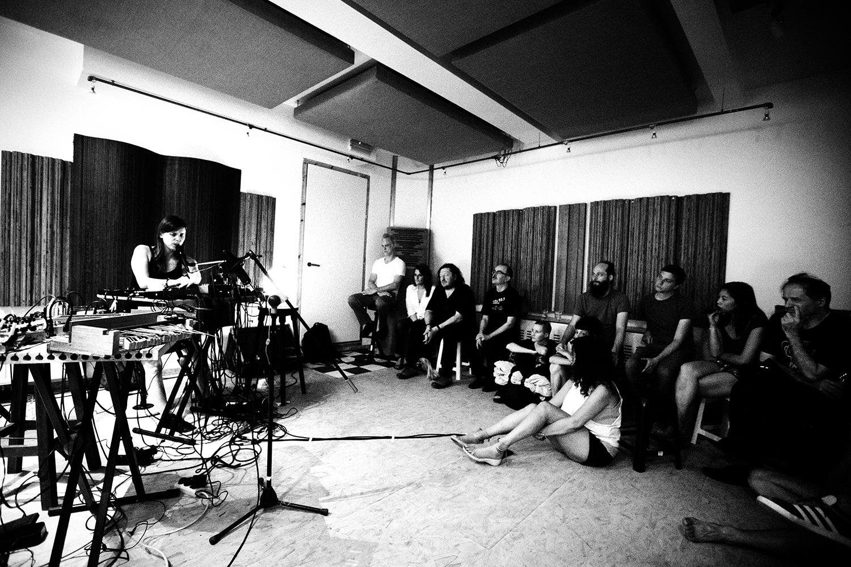 Lynn Cassiers by Laurent Orseau - Fly Music Studio - Brussels, Belgium #10