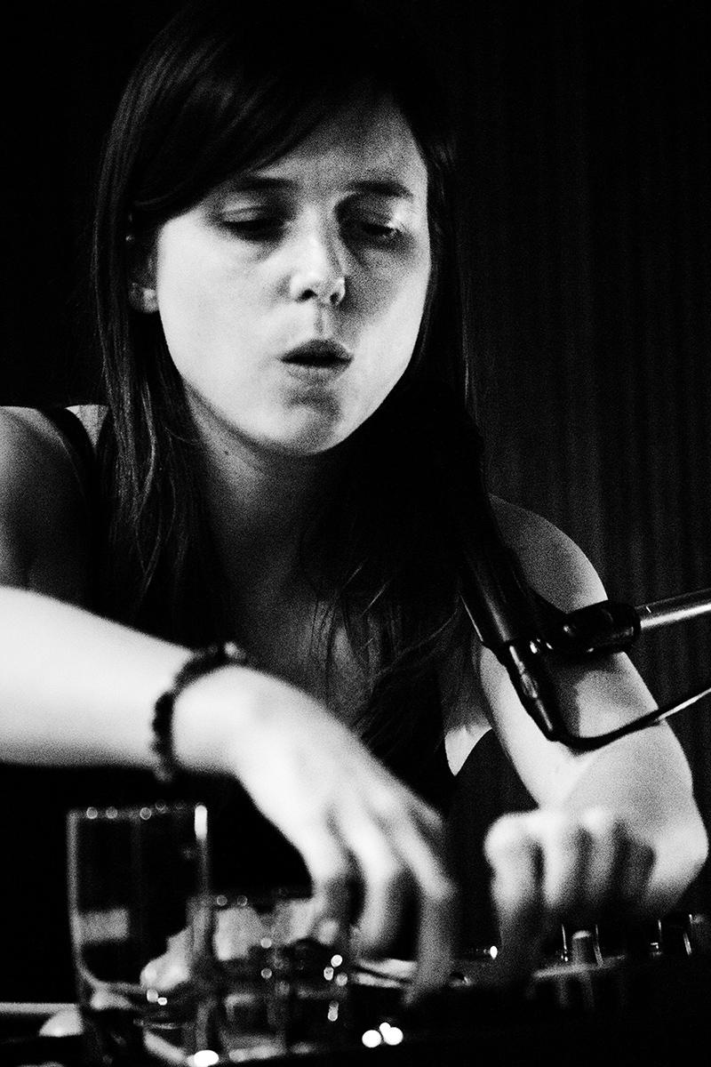 Lynn Cassiers by Laurent Orseau - Fly Music Studio - Brussels, Belgium #7