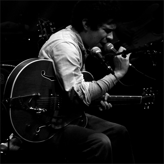 M. Ward by Laurent Orseau - Café de la Danse - Paris, France #2