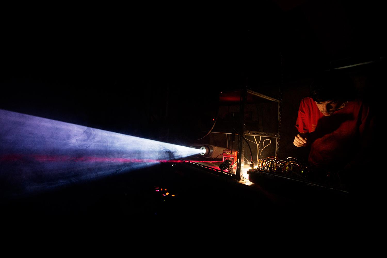 Makino Takashi & Floris Vanhoof - Concert - Les Ateliers Claus - Brussels, Belgium