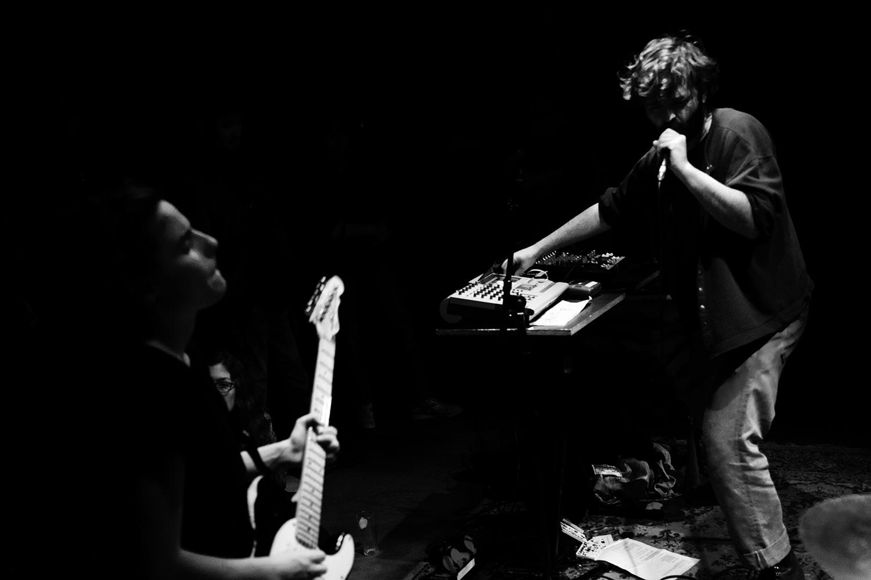 Mamiedaragon by Laurent Orseau - Concert - Les Ateliers Claus - Brussels, Belgium #7