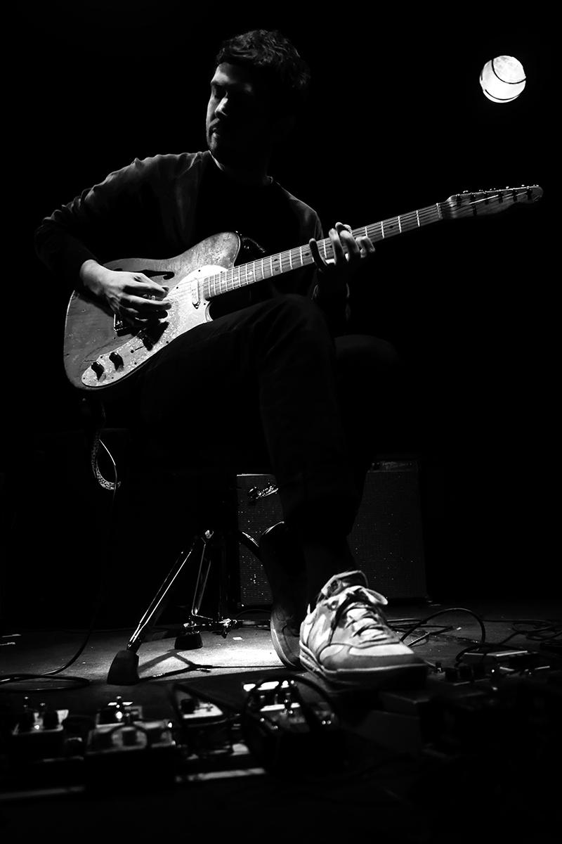 Manuel Troller by Laurent Orseau - Concert - Les Ateliers Claus - Brussels, Belgium #6