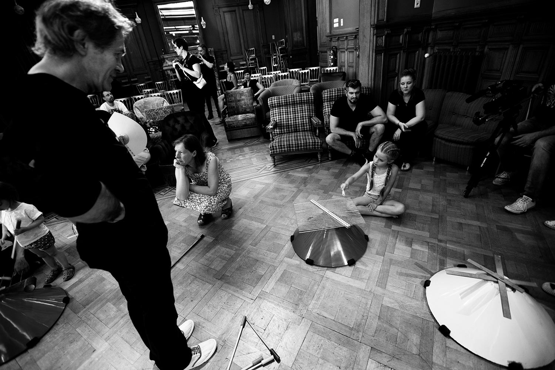 Michel Deneuve - Workshop Improv With Bashet Structures For Education by Laurent Orseau - Summer Bummer Festival - De Studio - Antwerp, Belgium #12
