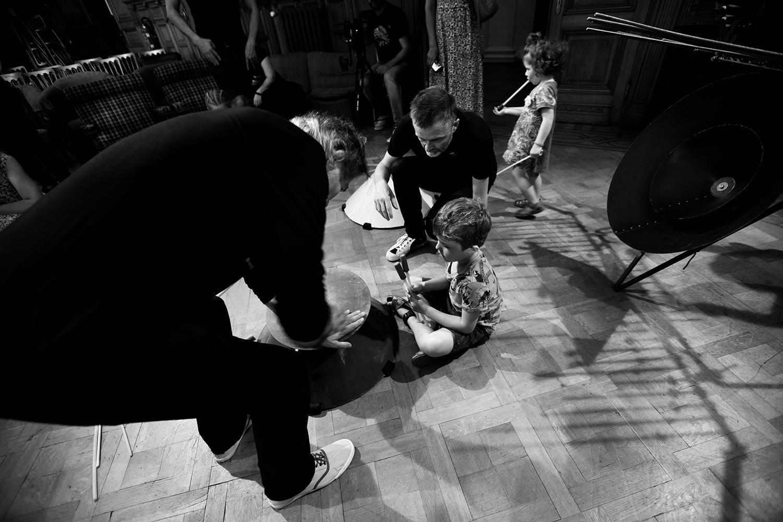 Michel Deneuve - Workshop Improv With Bashet Structures For Education by Laurent Orseau - Summer Bummer Festival - De Studio - Antwerp, Belgium #13