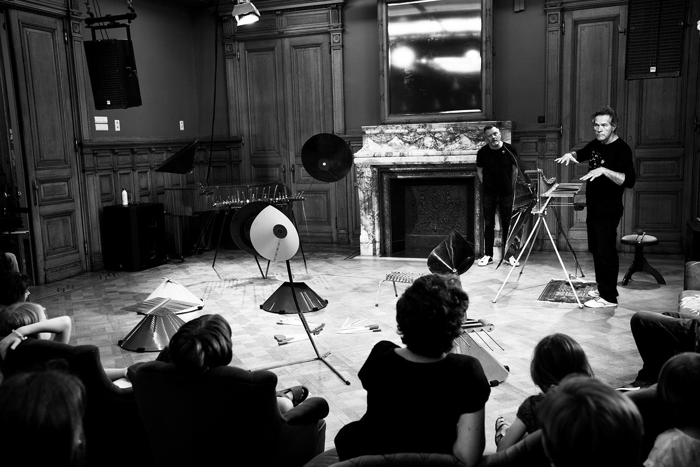 Michel Deneuve - Workshop Improv With Bashet Structures For Education by Laurent Orseau - Summer Bummer Festival - De Studio - Antwerp, Belgium #3