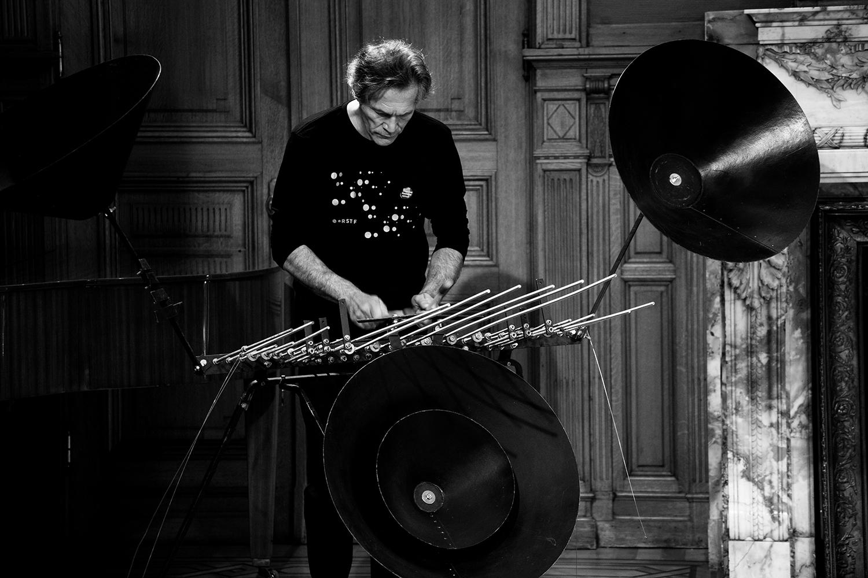 Michel Deneuve - Workshop Improv With Bashet Structures For Education by Laurent Orseau - Summer Bummer Festival - De Studio - Antwerp, Belgium #4