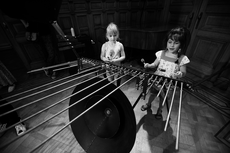 Michel Deneuve - Workshop Improv With Bashet Structures For Education by Laurent Orseau - Summer Bummer Festival - De Studio - Antwerp, Belgium #7
