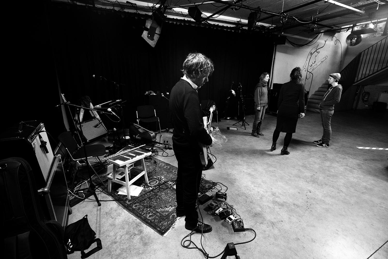 Midget ! by Laurent Orseau - Rehearsal - Les Ateliers Claus - Brussels, Belgium #22
