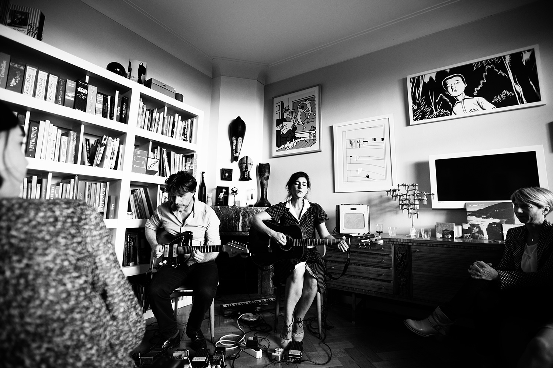 Midget ! by Laurent Orseau - House Concert - Brussels, Belgium #10