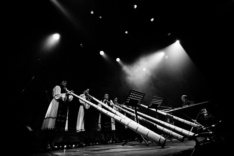 Milan Warmoeskerken & The Tulnic Ensemble Of Avram Iancu by Laurent Orseau - Europalia - Les Brigittines with Les Ateliers Claus - Brussels, Belgium #3