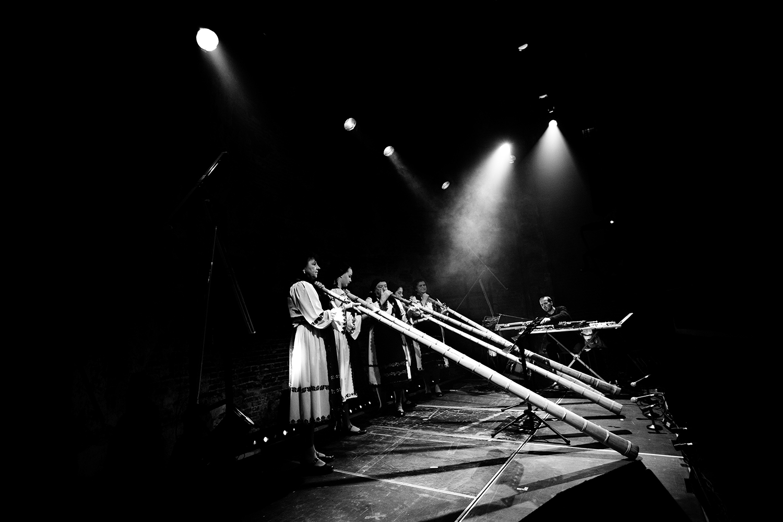 Milan Warmoeskerken & The Tulnic Ensemble Of Avram Iancu by Laurent Orseau - Europalia - Les Brigittines with Les Ateliers Claus - Brussels, Belgium #4