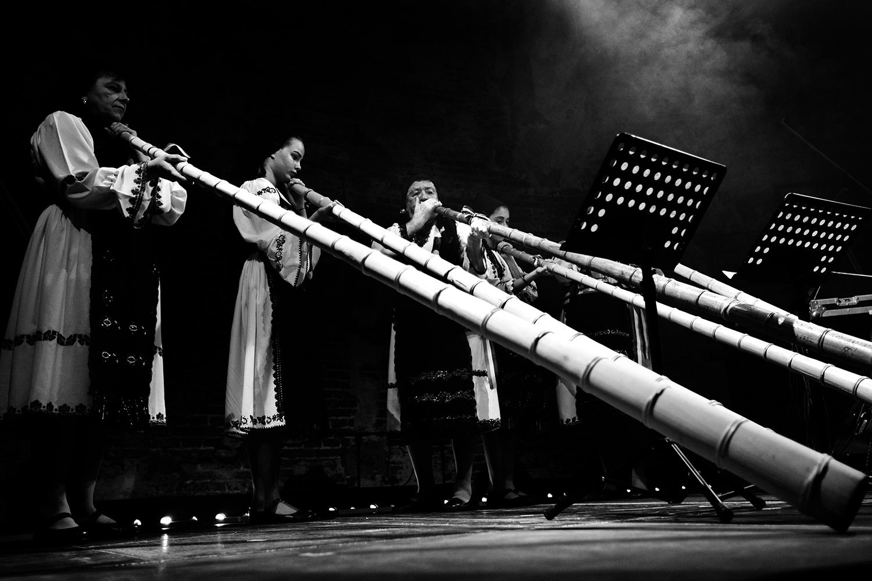 Milan Warmoeskerken & The Tulnic Ensemble Of Avram Iancu by Laurent Orseau - Europalia - Les Brigittines with Les Ateliers Claus - Brussels, Belgium #6