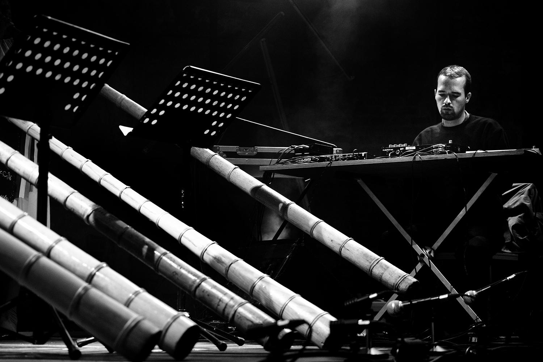 Milan Warmoeskerken & The Tulnic Ensemble Of Avram Iancu by Laurent Orseau - Europalia - Les Brigittines with Les Ateliers Claus - Brussels, Belgium #9