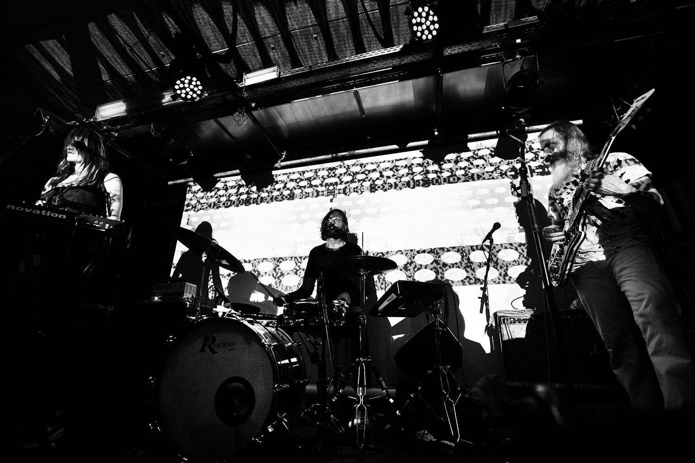 Moon Duo - Concert - Les Ateliers Claus - Brussels, Belgium