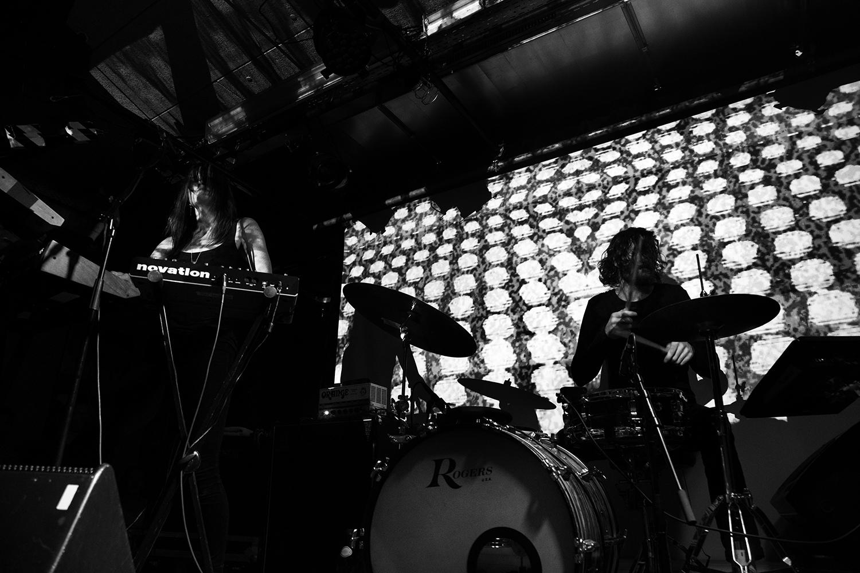 Moon Duo by Laurent Orseau - Concert - Les Ateliers Claus - Brussels, Belgium #4