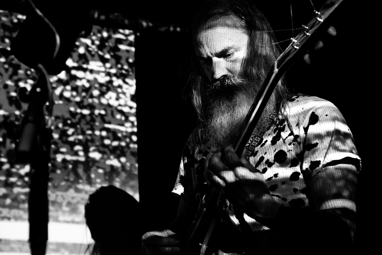 Moon Duo by Laurent Orseau - Concert - Les Ateliers Claus - Brussels, Belgium #8