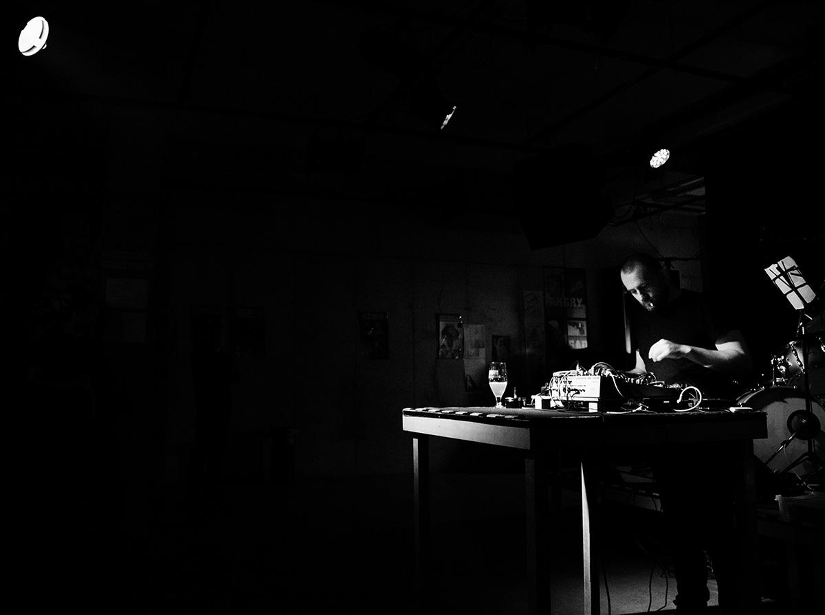 Nuances d'engrais by Laurent Orseau - Concert - Les Ateliers Claus - Brussels, Belgium #7
