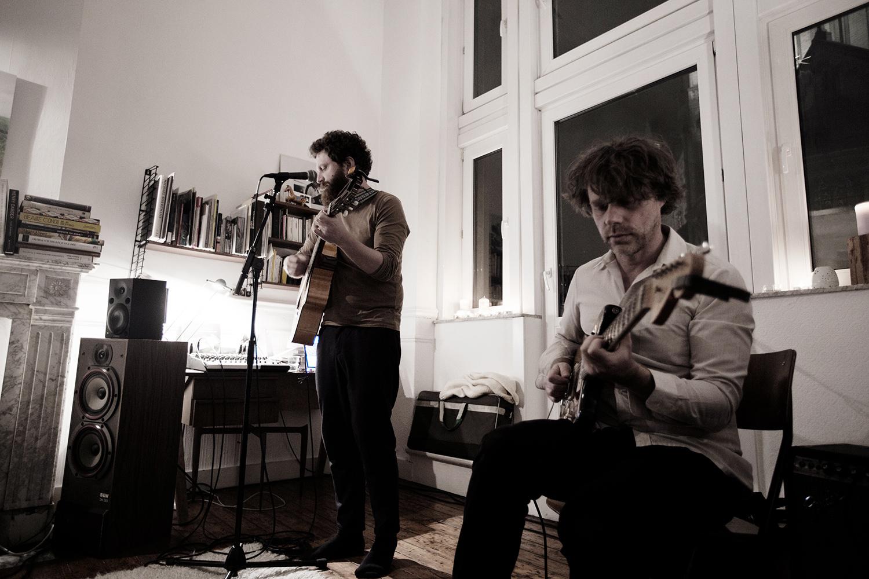 Orso Jesenska by Laurent Orseau - Concert en appartement - Brussels, Belgium #3