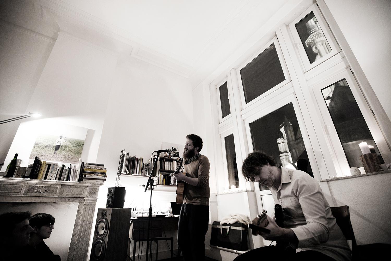 Orso Jesenska by Laurent Orseau - Concert en appartement - Brussels, Belgium #5
