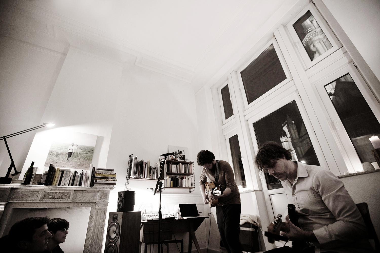Orso Jesenska by Laurent Orseau - Concert en appartement - Brussels, Belgium #6