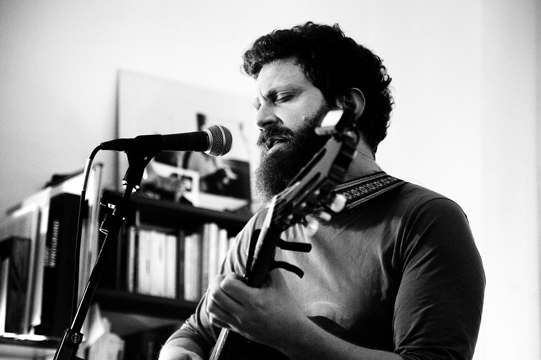Orso Jesenska by Laurent Orseau - Concert en appartement - Brussels, Belgium #8