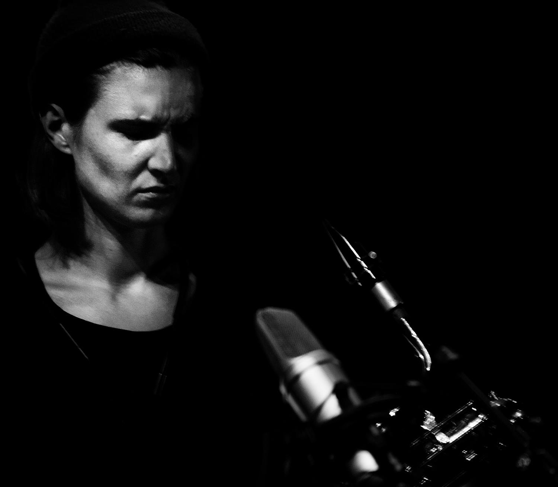 Paal Nilssen-Love & Hanne De Backer by Laurent Orseau - Summer Bummer Festival - De Studio - Antwerp, Belgium #10