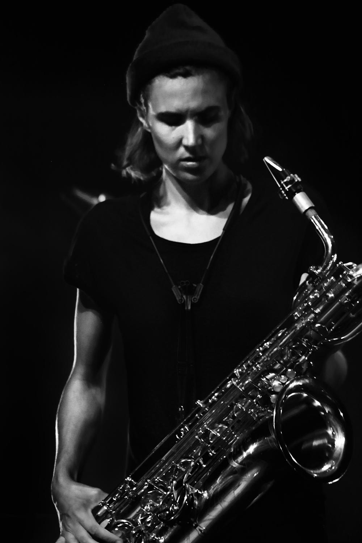 Paal Nilssen-Love & Hanne De Backer by Laurent Orseau - Summer Bummer Festival - De Studio - Antwerp, Belgium #3