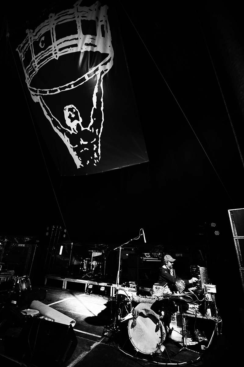 Paddy Steer by Laurent Orseau - Soundcheck - Circus Claus - Les Ateliers Claus - Brussels, Belgium #11
