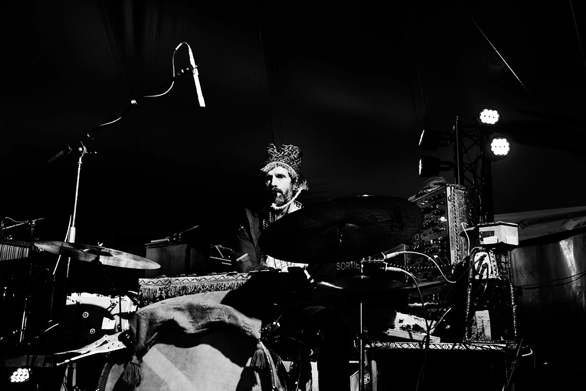 Paddy Steer by Laurent Orseau - Soundcheck - Circus Claus - Les Ateliers Claus - Brussels, Belgium #7