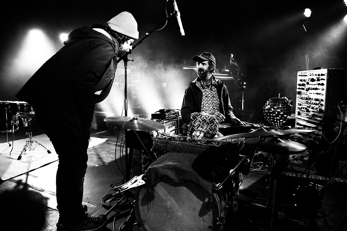 Paddy Steer by Laurent Orseau - Soundcheck - Circus Claus - Les Ateliers Claus - Brussels, Belgium #8