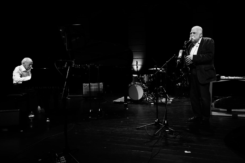 Peter Brötzmann & Fred Van Hove by Laurent Orseau - Summer Bummer Festival - De Studio - Antwerp, Belgium #1