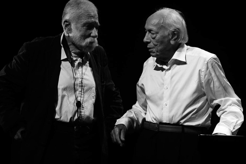 Peter Brötzmann & Fred Van Hove by Laurent Orseau - Summer Bummer Festival - De Studio - Antwerp, Belgium #10