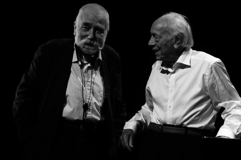 Peter Brötzmann & Fred Van Hove by Laurent Orseau - Summer Bummer Festival - De Studio - Antwerp, Belgium #11