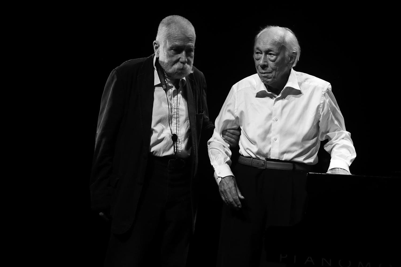 Peter Brötzmann & Fred Van Hove by Laurent Orseau - Summer Bummer Festival - De Studio - Antwerp, Belgium #9