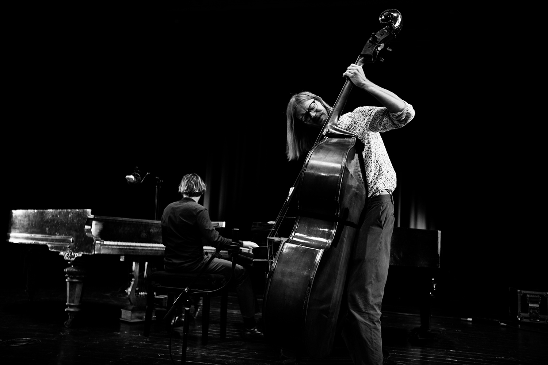 Playing With Standards Trio (Seppe Gebruers & Nils Vermeulen & Paul Lytton) - Summer Bummer Festival - De Studio - Antwerp, Belgium