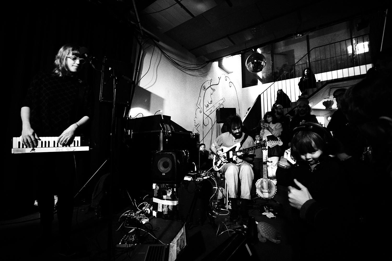 Powerdove by Laurent Orseau - Concert - Les Ateliers Claus - Brussels, Belgium #3