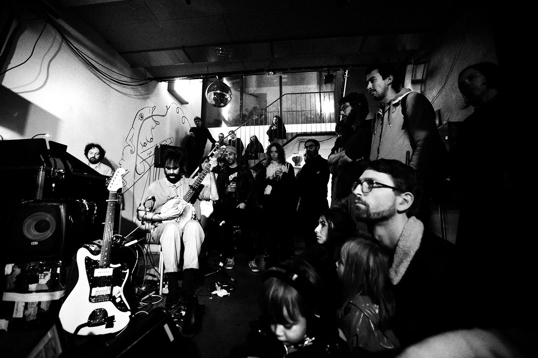 Powerdove by Laurent Orseau - Concert - Les Ateliers Claus - Brussels, Belgium #4