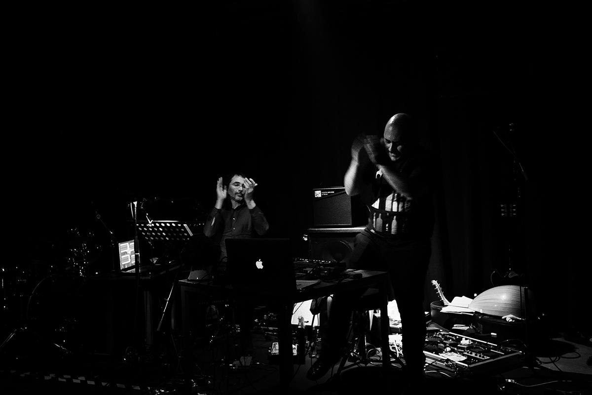 Praed by Laurent Orseau - Concert - Les Ateliers Claus - Brussels, Belgium #4