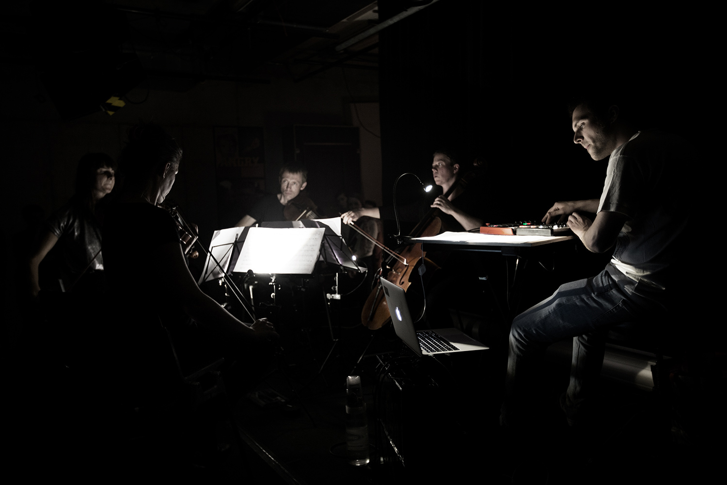 Quatuor MP4 by Laurent Orseau - Les Ateliers Claus - Brussels, Belgium #1