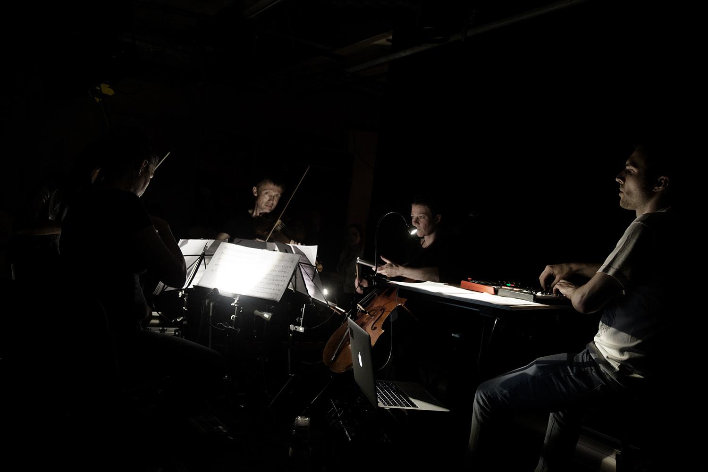 Quatuor MP4 by Laurent Orseau - SMOG - Les Ateliers Claus - Brussels, Belgium #3