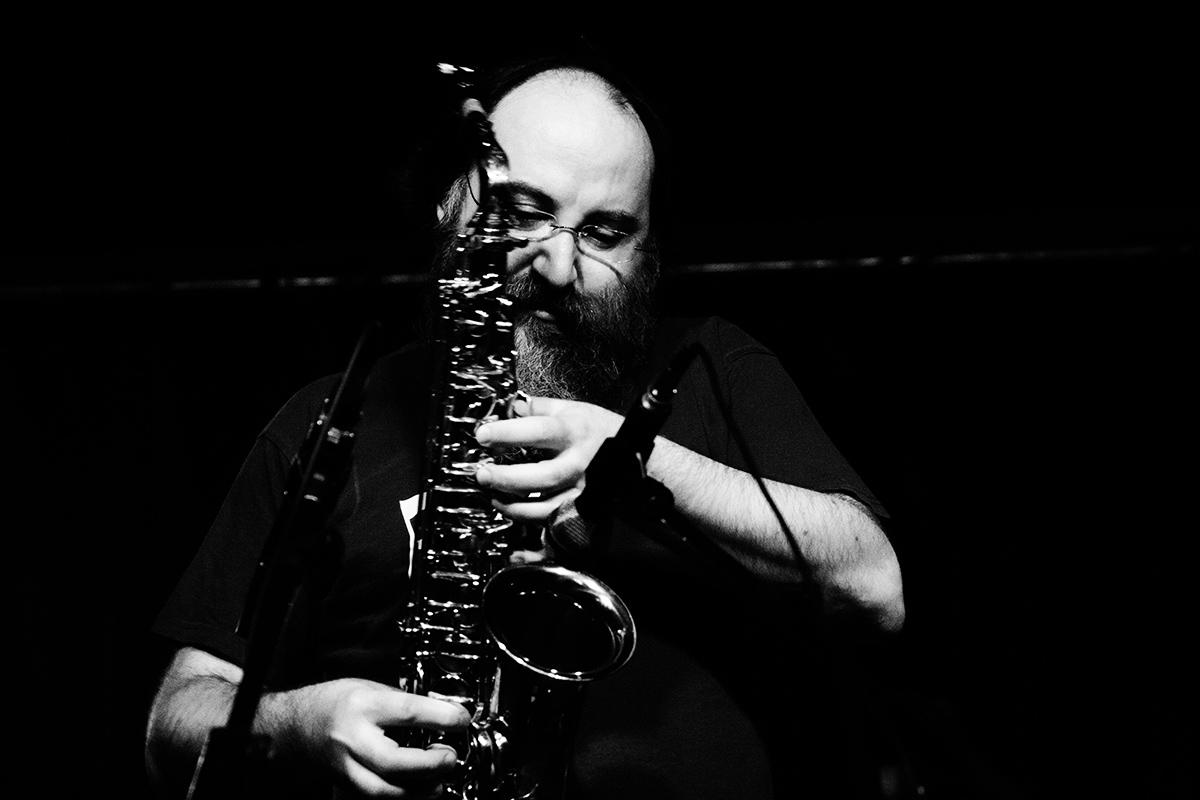 Quentin Rollet & Thierry Müller by Laurent Orseau - Concert - Instants Chavirés - Montreuil, France #6