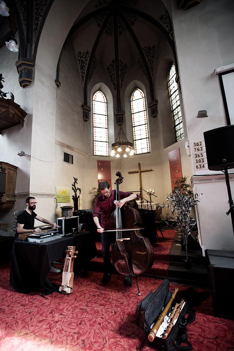 Razen by Laurent Orseau - Meakusma Festival - Friedenskirche - Eupen, Belgium #6