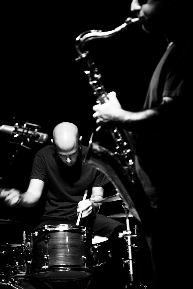 Rodrigo Amado & Chris Corsano by Laurent Orseau - Les Ateliers Claus - Brussels, Belgium #23