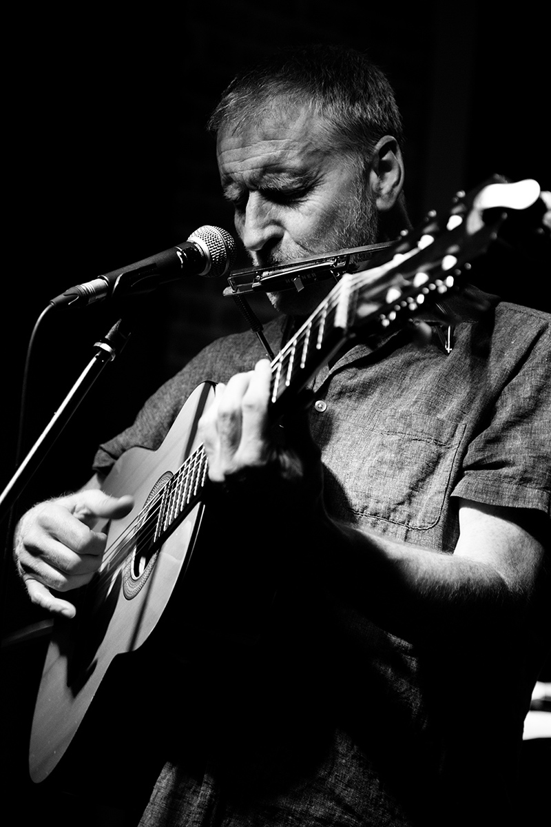 Sean O'Hagan (The High Llamas) by Laurent Orseau - Maison des Musiques - Brussels, Belgium #4
